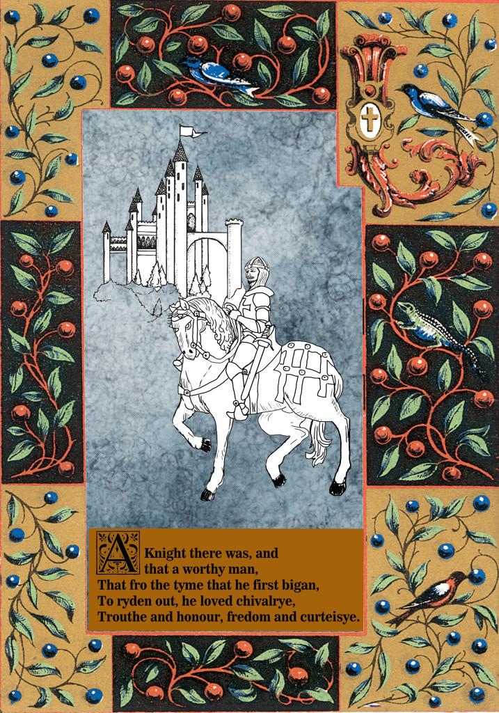 Design concept for Canterbury Knight