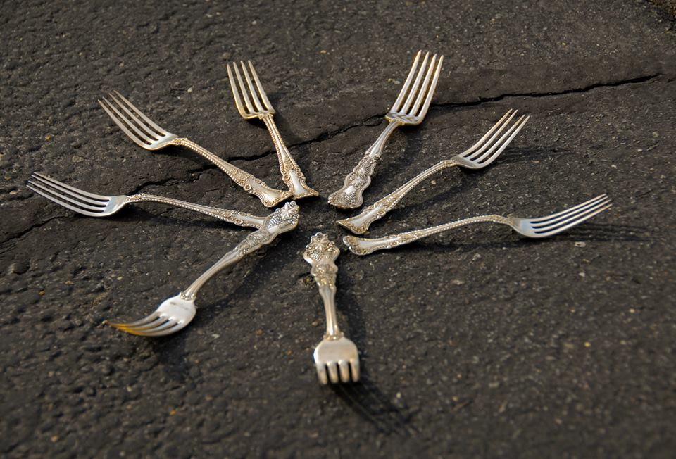 Forks in the road--My picture for the Ricky Tims 52 week photo class