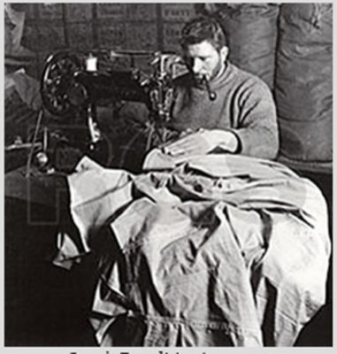 man sewing 1912