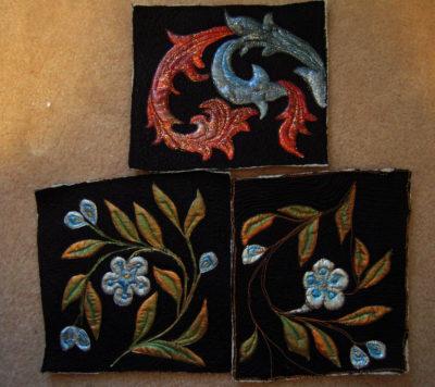 practice pieces for Canterbury Silk